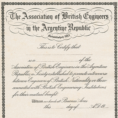 British Engineering Association- CEyA- Biblioteca- UdeSA